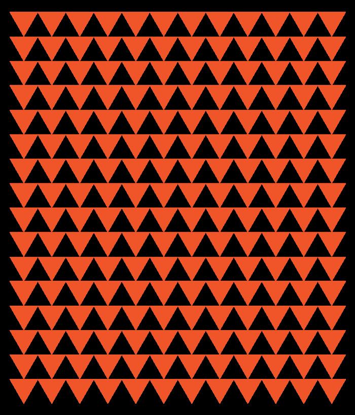 Orange Triangle Pattern Group