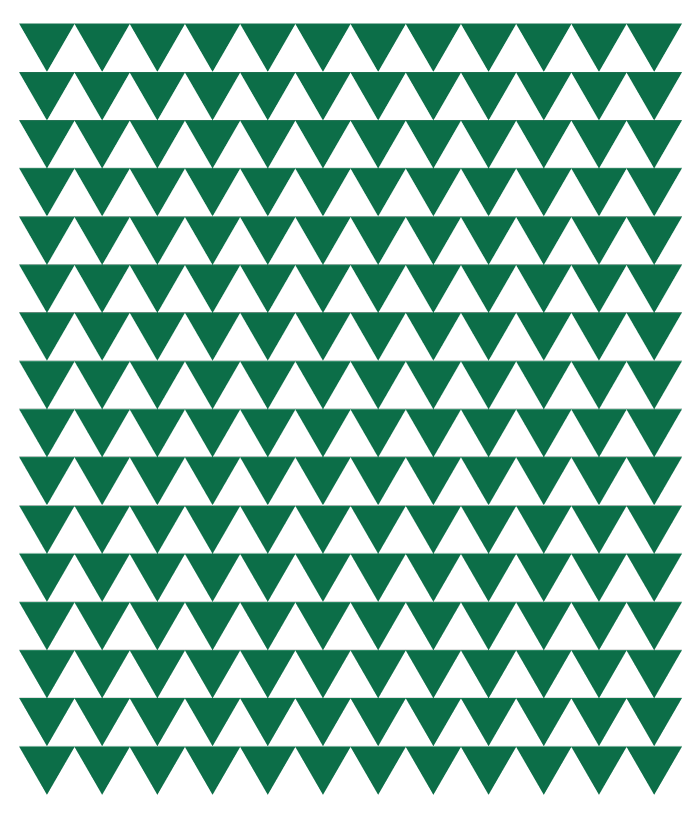 Green Triangle Pattern Group