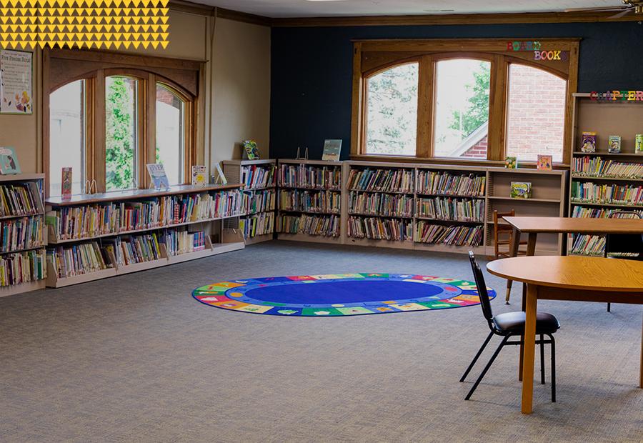 Kentland Public Library, Kids Storytime Mat