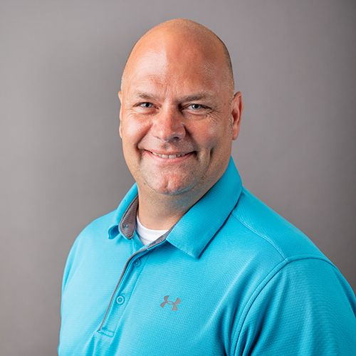 Our Departments, Headshot of Town Board President Mike Rowe